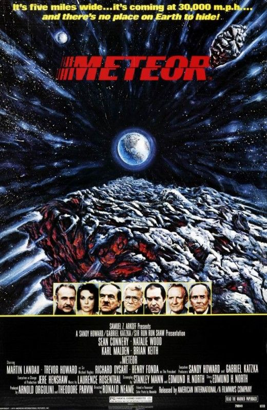 Meteor -1968 - Great disaster movie with an all star cast.
