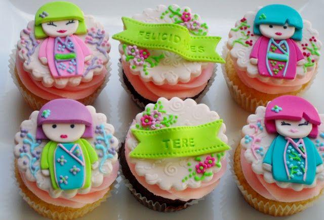 Kimmidoll cupcakes
