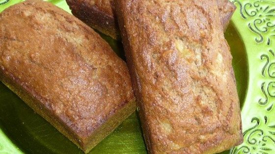 'Our four kids like slices of this moist tropical-tasting banana bread for breakfast,' comments Mary Watkins of Chaska, Minnesota. 'I sometimes bake it in mini loaf pans, then freeze the loaves so we can enjoy a small portion at a time.'