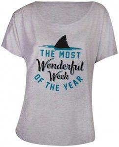Shark Week The Most Wonderful Week Of The Year T-Shirt