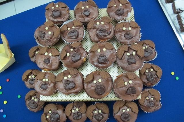 Cupcake de urso <3