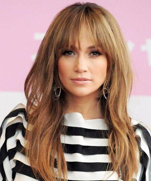 Overwhelming Full Fringe Long Hairstyles for Women