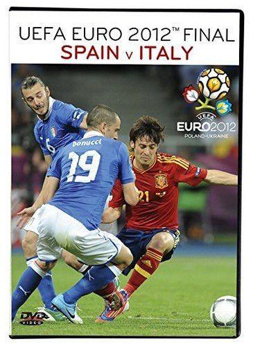 UEFA Euro Championships 2012 Final Spain v. Italy DVD NIP SLS Italia Espana
