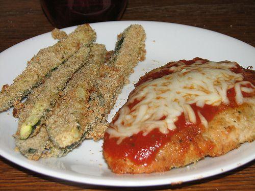 , Baked Zucchini, Baking Zucchini, Weights Watchers, Chicken Parmesan ...