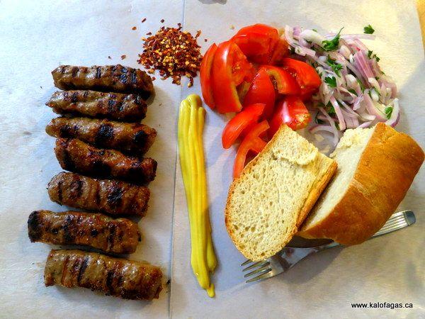 Soutzoukia - Ta Bombidia, Thessaloniki