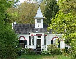 De Eerste Steen, huis en voormalig landgoed. Bouw gereed in 1907, architect G. Stel, Rijksmonument