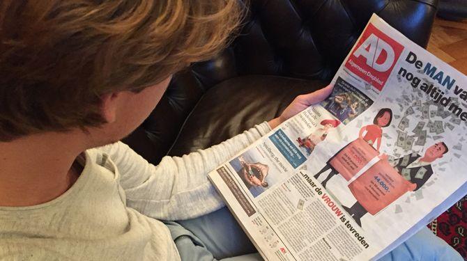Het Algemeen Dagblad is opnieuw de beste krant van Nederland. Dat is de uitkomst van de jaarlijkse AD-krantentest.