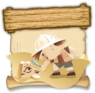 Klub Młodego Archeologa - krzyżówki, łamigłówki, puzzle oraz kolorowanki mają na celu pokazać dzieciom, czym jest archeologia. Dodatkową atrakcją są ciekawe konkursy z nagrodami.