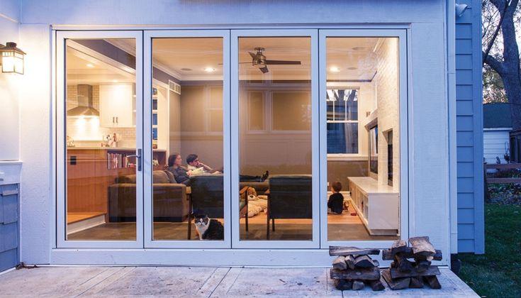 Fold Away Glass Patio Doors