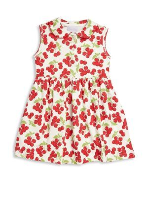 Shop toddlers little girls girls cherry jersey dress from Rachel Riley in our fashion directory.