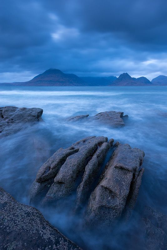Skye Blue. Elgol, Isle of Skye. Scotland.