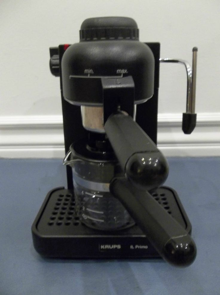 Krups Il Primo Espresso And Cappuccino Machine 972a