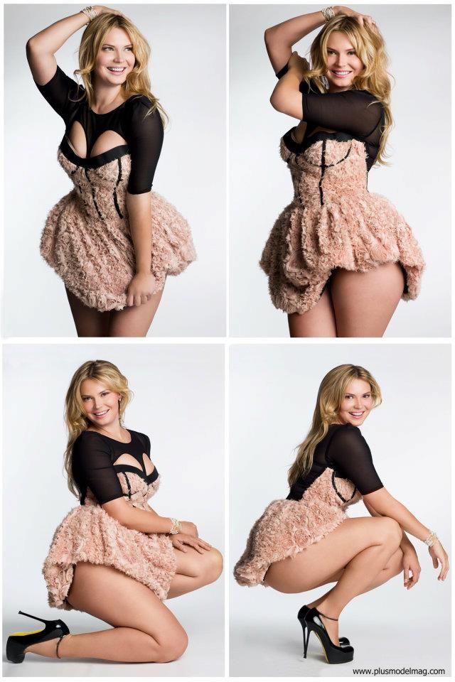 Katya Zharkova, wonderfully sexy plus size model