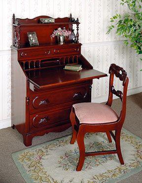 The David Cabinet Company Lillian Russell Secretary Desk My Grandparents  Gave Me