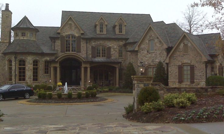 The Manor, Alpharetta, GA.   I really wouldn't want a huge home, but this is gorgeous