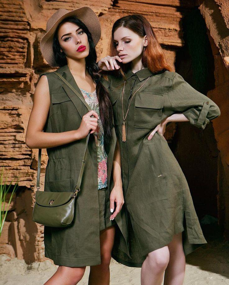 Photo: @fursova  Model: @mariloopsi @vktrkldk  Style: @boutique_mel_  На Маше:  Жилет Gizia - 10,240 Майка - 5,440 Шорты Gizia - 6,000  На Вике:  Рубашка-платье Gizia - 11,040  #sophene #nursace #newcollection #newarrivals #female #shopping #sbsmegamall  #fashion #krasnodar  #spring #look #style #mel #boutiquemel #Мел #girly