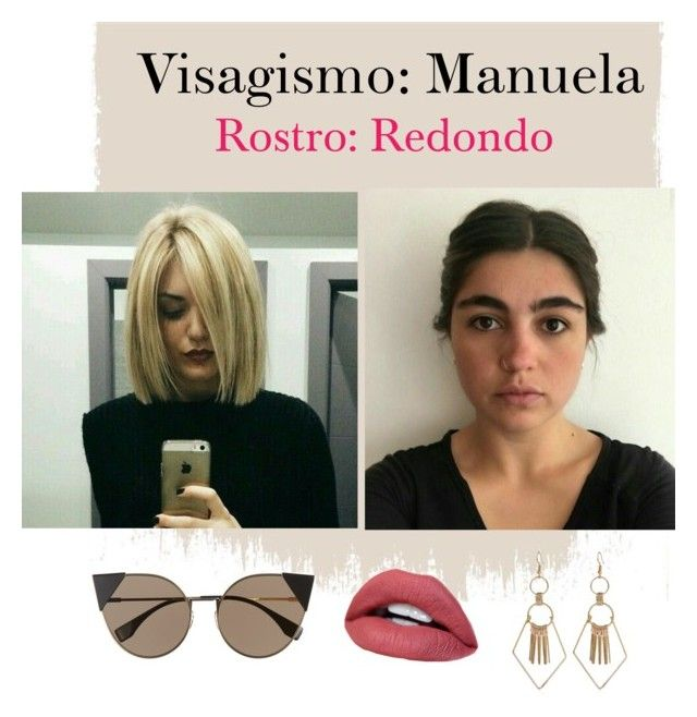"""""""Visagismo: Manuela"""" by davidero on Polyvore featuring beauty and Fendi"""