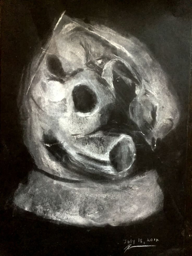 Day 4 Weasel, Homage to Duchamp-Villon #originalart #charcoaldrawing #charcoal #drawing #artprint  #adlaitest