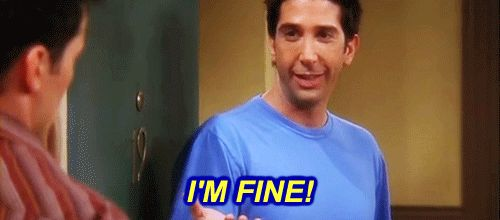 """When he tried to play it cool with Rachel and Joey.   33 Of The Most Memorable Ross Geller Moments On """"Friends"""""""