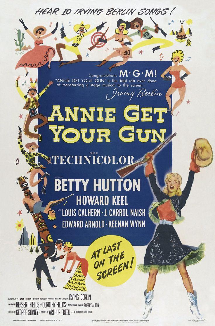 annie get your gun movie poster | Poster artwork courtesy of Gunnar