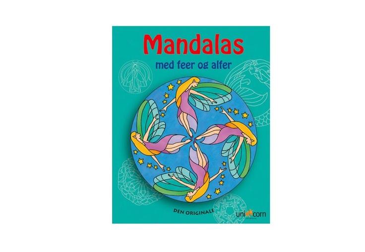 Mandalas med feer og alfer