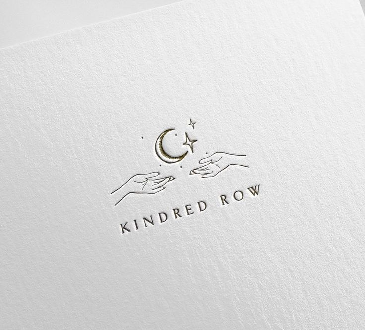 Still swooning over KINDRED ROW logo choice 😍 #Regram via @stylishcreativebra...