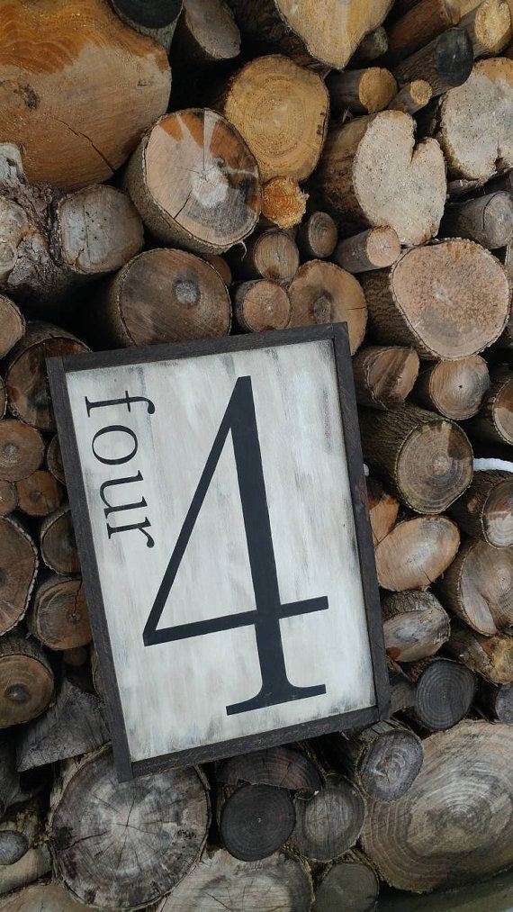 Check out this item in my Etsy shop https://www.etsy.com/ca/listing/493892545/family-number-wood-sign
