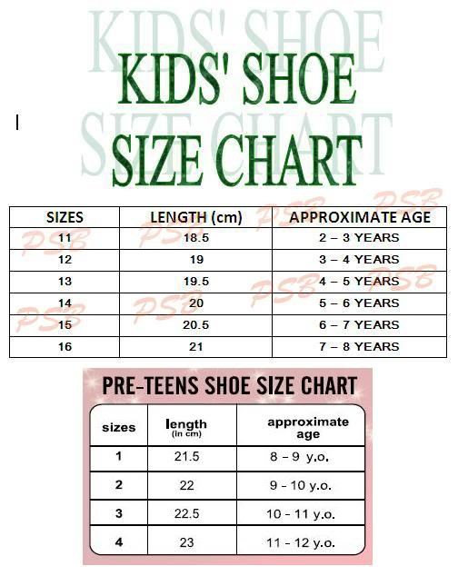 Toddler Shoe Size  Is Equal To Little Kid