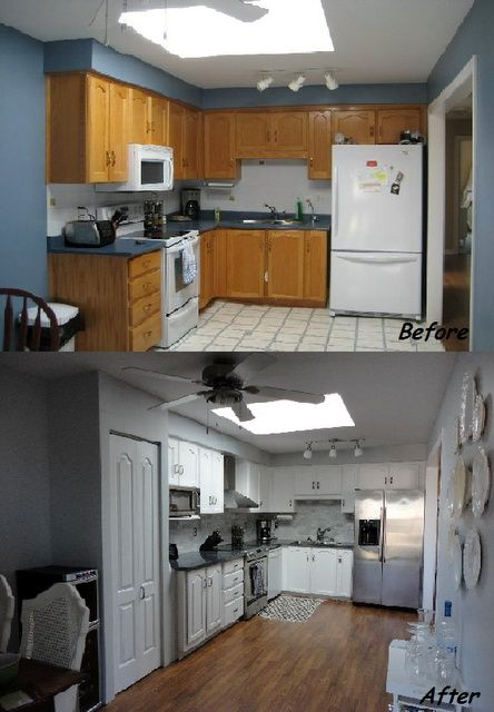 61 best for the home images on pinterest double wide for Cheap kitchen cabinets for mobile homes