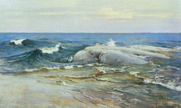 Järnefelt, Eero | Merimaisema (1896)