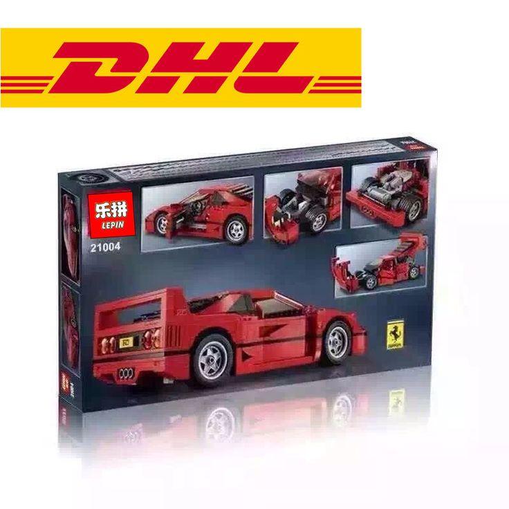 NEW LEPIN 21004 F40 Sports Car 1158 pcs Model Building Kits Blocks Bricks Toys Christmas Boys gift 10248