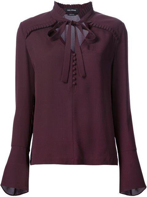 Yigal Azrouel блузка с рюшами