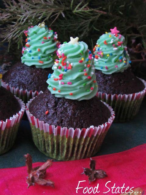 Cupcakes σοκολάτας με βουτυρόκρεμα - Food States