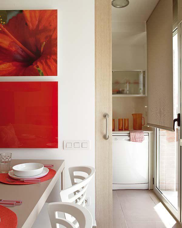 Seis puertas correderas para cocinas y baños