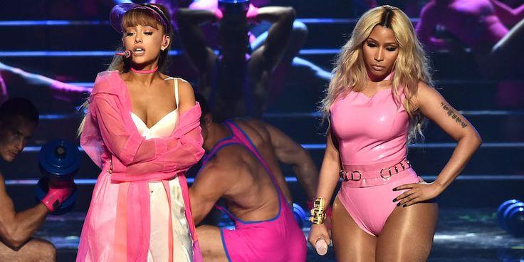 MTV VMA 2016 Watch Ariana Grande and Nicki Minaj Perform Side to Side - Pitchfork