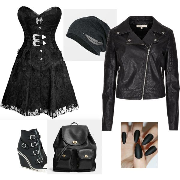 gothic style by maddywatts on Polyvore featuring polyvore art