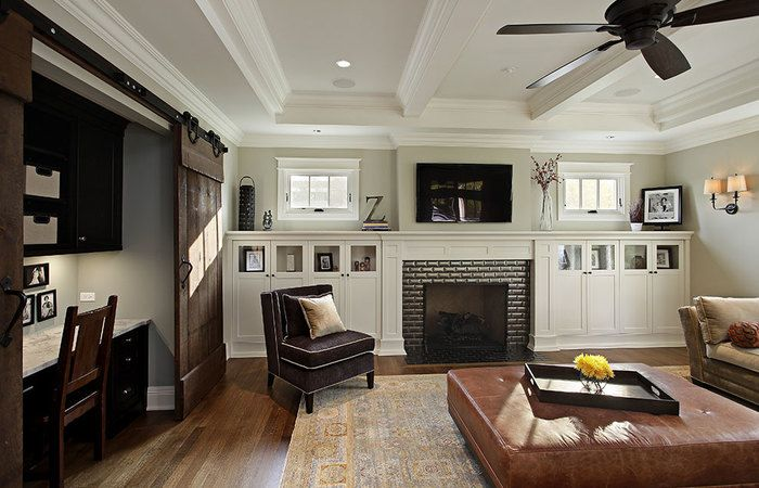 Interior Modern Craftsman. Ceiling is usually decorated & 2. Interior Modern Craftsman. Ceiling is usually decorated | #7 ...