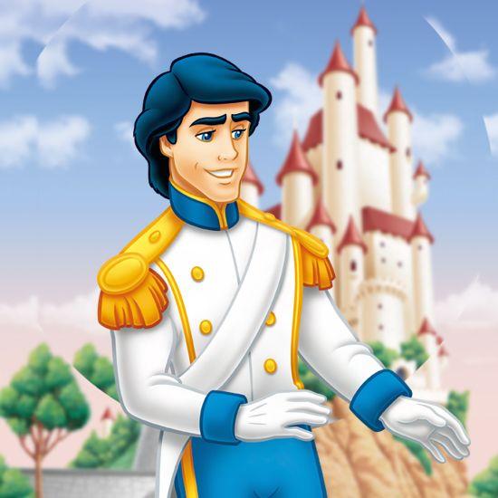 リトルマーメイドのハンサムな王子様エリック王子♡