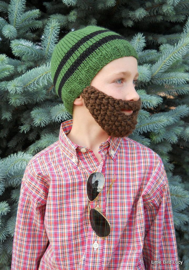 reduced childs knit hat with beard wax 928e4 30cfa 536df0148e5a