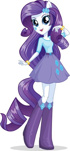 Rarity - Equestria Girls