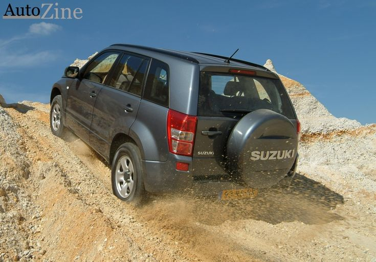 Suzuki Grand Vitara Off-road klimmen