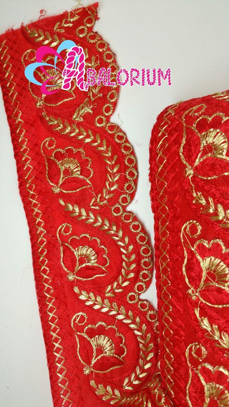 Pasamaneria India en rojo 8€/m