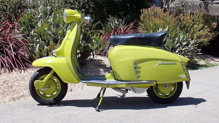 Enjoy the last few days of summer on this 1967 Lambretta SX-150.  #Lambrettas #RestoredScooter #ScooterForSale #SanFrancisco #VintageScooter #VintageScooterService #SFYelp #PaintJob #VintageScooterStore