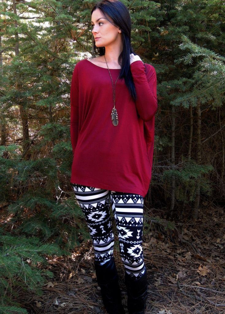 Arrowhead Aztec Leggings - Virginia Fields. WANT when restocked! OMG. Aztec everything!