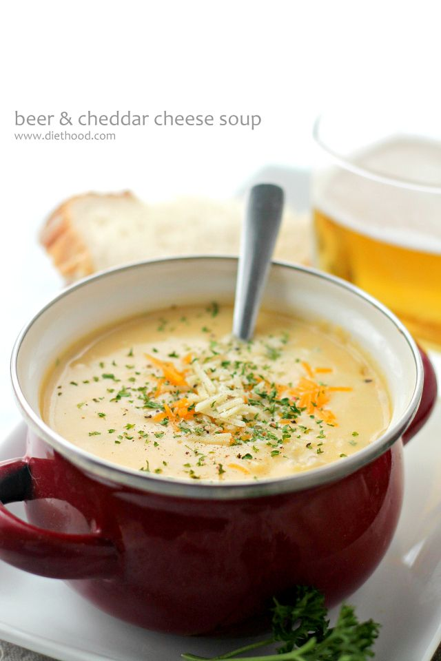 beer cheddar cheese soup blendtec giveaway beer cheese soups broccoli ...