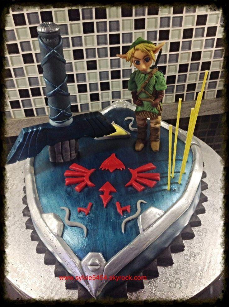 Decore Gateau Zelda