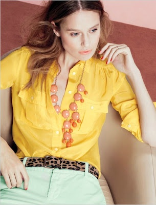 J.CrewSpring Inspiration, Colors Pants, Fashion, Style, J Crew, Spring Shops, Jcrew, Bubbles Necklaces, Bright Colours