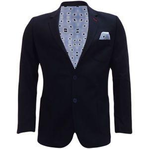 a mens chaqueta bewley ritch traje chaqueta blazer chaqueta elegante marina con pl