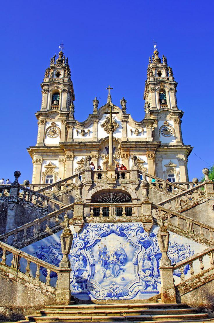 Santuario de Nossa Senhora dos Remedios Lamego,  Portugal.