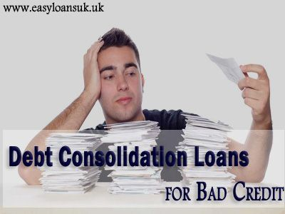 Easy Loans UK, a renowned online marketplace to shop various kinds of loans, is presenting an exciting deal on a loan option called debt consolidation loans for bad credit people. We provide these bad debt loans in the uk with the aim of strengthen the finances of those individuals, who face trouble in borrowing money from their banks due to unpleasant credit scores. To apply for these loans, visit: http://www.easyloansuk.uk/debt-consolidation-loans/